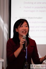 Violet Lim CEO of Lunch Actually at the Internet Dating Confernece iDate2010 California