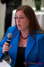 Mae Flexer (Representative from Connecticut) discussing Online Dating Legislation at iDate2011 West