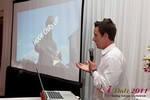 Chas McFeely (CEO of HookChasUp.com) at the 2011 Internet Dating Industry Conference in Beverly Hills