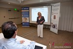 Julie Ferman (CEO of Cupid 's Coach) at iDate2011 Beverly Hills
