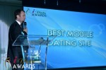 Mark Brooks - Announcing Best Mobile Dating Site Winner for 2012 at the 2012 iDate Awards Ceremony