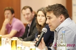 Final Panel (Benjamin Bak of Lovoo) at the 2012 Germany E.U. Mobile and Internet Dating Summit and Convention