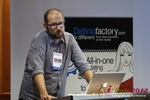 Matteo Monari (Co-Founder of BizUp) at iDate2012 Koln