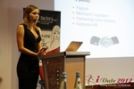 Oksana Reutova (Head of Affiliates at UpForIt Networks) at the 2012 E.U. Internet Dating Industry Conference in Germany
