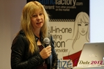 Professor Moniica Whitty (University of Leicester) at the 2012 E.U. Online Dating Industry Conference in Koln