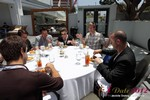 Lunch at the June 20-22, 2012 Mobile Dating Industry Conference in L.A.