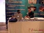 Exhibit Hall at the 2012 Online and Mobile Dating Industry Conference in California