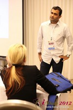 Dwipal Desai (CEO of TheIceBreak.com) covers monetization during a relationship at iDate2012 L.A.