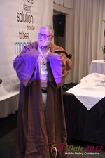 Jonathan Crutchley (Chairman at Manhunt) is actually Obi Wan Kenobi! at the 2012 Internet and Mobile Dating Industry Conference in L.A.