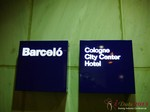 The Barcelo Hotel at the 35th iDate2013 Koln convention