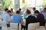 Lunch at the 2013 Koln Euro Mobile and Internet Dating Summit and Convention