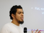 Miguel Espinoza (Developer @ PHPFox) at the September 16-17, 2013 Mobile and Online Dating Industry Conference in Koln