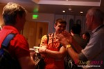 Networking at the 2013 Online and Mobile Dating Business Conference in L.A.