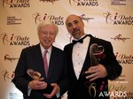 Dr. Warren & Paul Falzone at the 2013 Internet Dating Industry Awards in Las Vegas