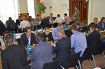 Speed Networking among Dating Industry Executives  at the 2014 Cologne E.U. Mobile and Internet Dating Expo and Convention