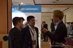 Exhibit Hall, Neteller Sponsor  at iDate2014 Europe