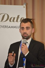 Matthew Banas, CEO of NetDatingAssistant  at the 2014 E.U. Online Dating Industry Conference in Cologne