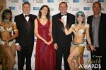 Dating Factory & RedHotPie Execs  at the 2014 iDateAwards Ceremony in Las Vegas