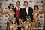 Mark Brooks & Markus Frind  at the 2014 iDateAwards Ceremony in Las Vegas held in Las Vegas