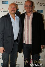 Sean Kelley & Benoit Le Chevallier  at the 2014 Las Vegas iDate Awards Ceremony
