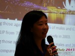 Violet Lim - CEO of Lunch Actually at the May 28-29, 2015 Mobile and Internet Dating Industry Conference in Beijing