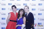 Leila Benton-Jones, Renee Piane and Rachel MacLynn at the 2015 iDateAwards Ceremony in Las Vegas held in Las Vegas
