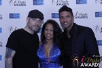 Sean Christian, Carmelia Ray and Doron Kim at the 2015 iDate Awards