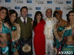 Michael O'Sullivan and Julie Spira in Las Vegas at the 2015 Online Dating Industry Awards