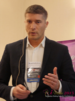 Hristo Zlatarsky CEO Elitebook.bg With Insights On The Bulgarian Mobile And Online Dating Market at the 42nd iDate2015 London convention