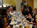 Lunch Among European And Global Dating Industry Executives   at the October 14-16, 2015 event for global online dating and matchmaking professionals in London