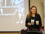 Megan Buquen CEO Matchmakers Circle  at the 2015 E.U. Internet Dating Industry Conference in London