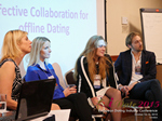 Panel On Effective Collaboration For Offline Dating At at the 12th annual E.U. iDate conference matchmakers and online dating professionals in London