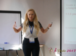 Julia Lanske at the July 19-21, 2017 Premium International Dating Industry Conference in Misnk, Belarus